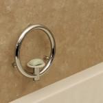 Invisia Soap Dish - Chrome 01