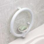 Invisia Soap Dish - White 01