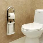Invisia Toilet Roll Holder - Chrome 01