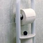 Invisia Toilet Roll Holder - White 01
