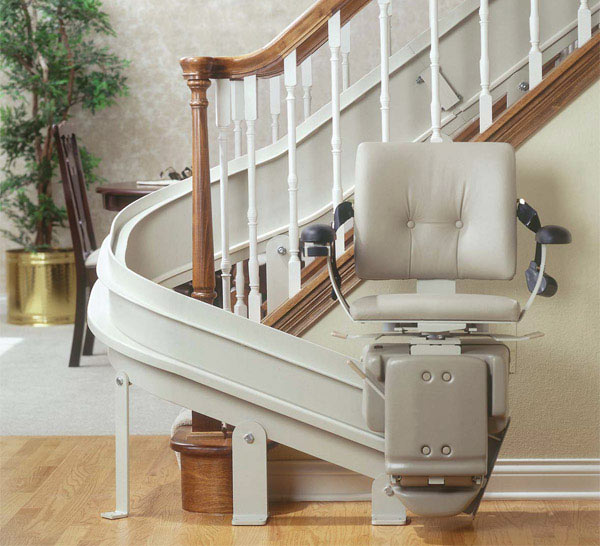 Electric stair lifts stair lifts new jersey nj for Motorized stair chair lift