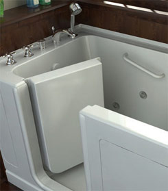 image of a walk-in tub