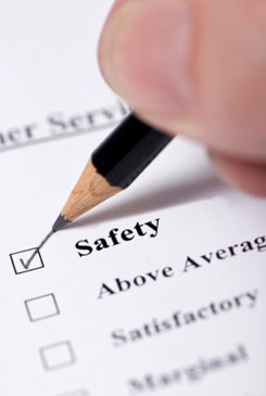 image of a New Jersey home safety assessment form