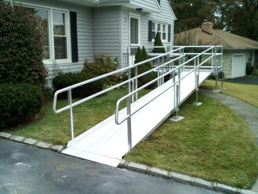 wheelchair ramp for rent in New Jersey by Back Home Safely