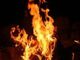 Senior Citizens Caught Fire