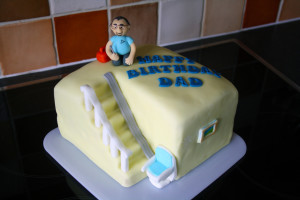 Stair lift Cake