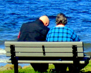 Old Couple Together