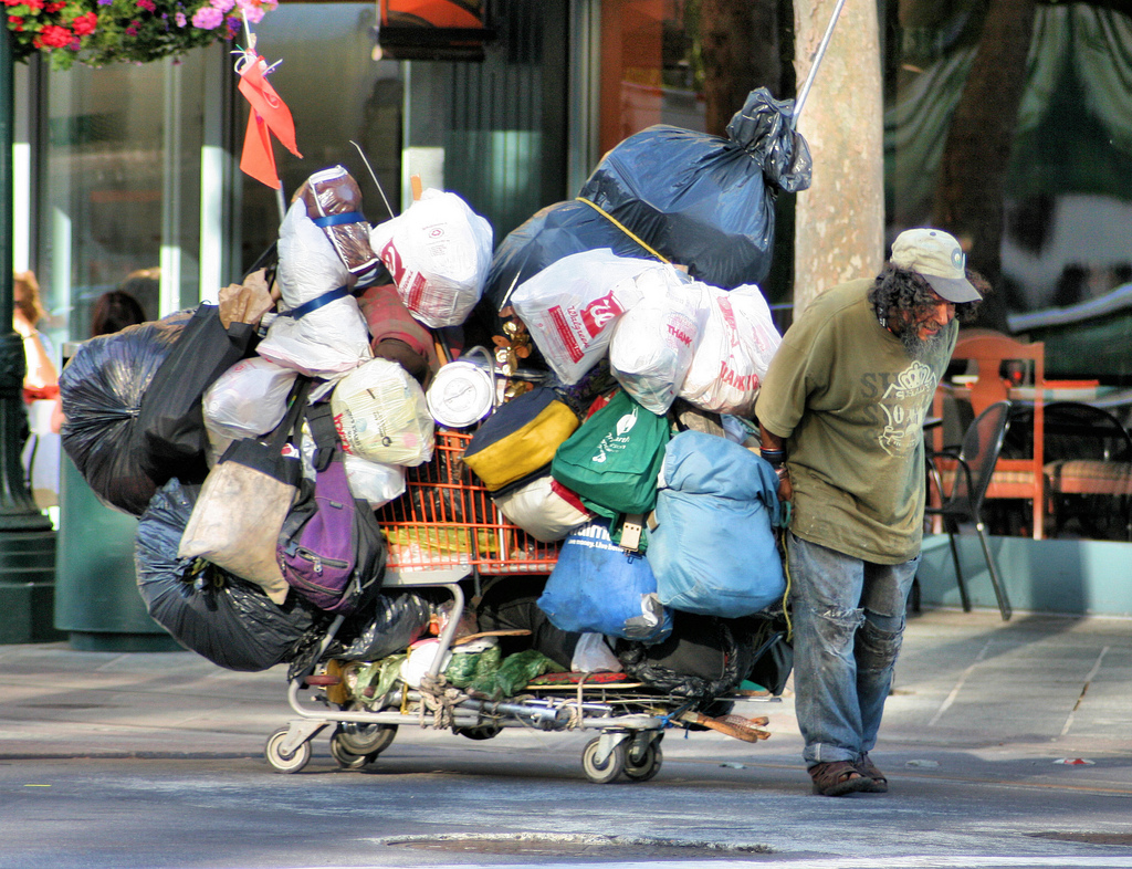 Hoarding behavior is a difficult condition to cope with not only for the doer but also for the people around him.