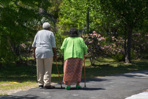 Walking is one of the best exercises for senior citizen