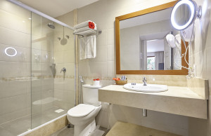 Keep your bathroom not only attractive but also safe for elderly people.