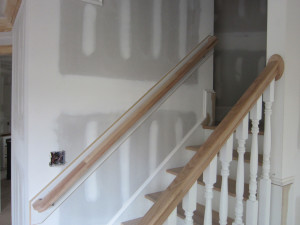Equip your stairways with handrails to prevent falls.
