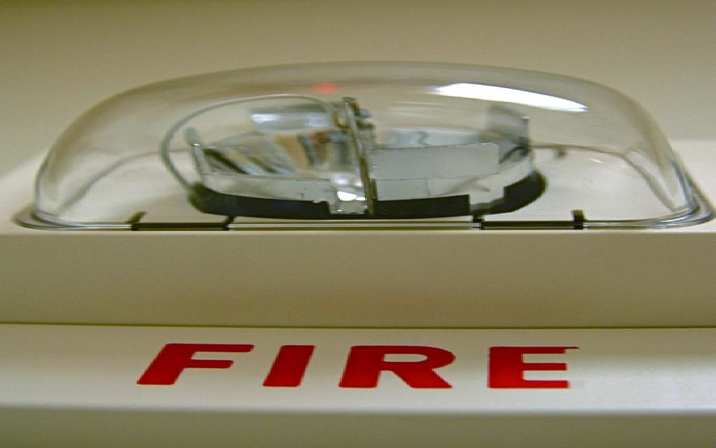 Fire Alarm and Safety Light