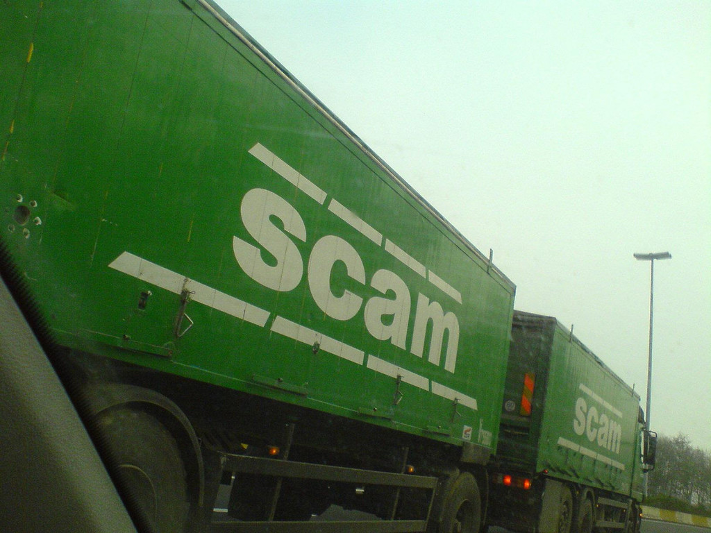 Avoid scam campaign...