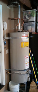 Home water heater...