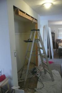 Fixing grandpa's house...