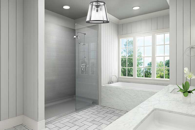 BarrierFree Bathrooms New Jersey - Building a new bathroom