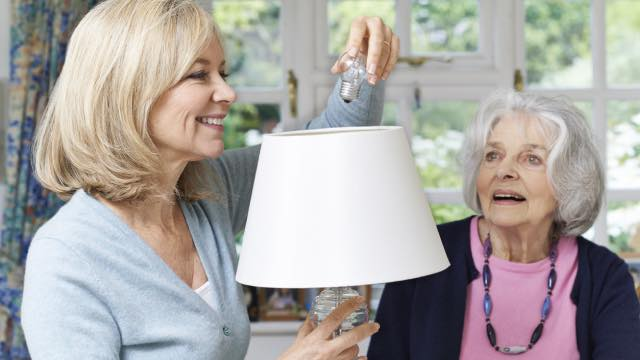 Creating A Well Lit Home For A Senior Loved One