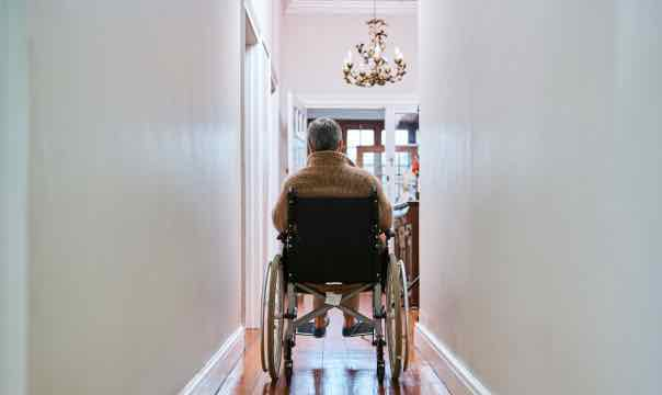 Wheelchair at Home